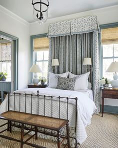 home decor 2019 Southern Living Idea House by Heather Chadduck Antique Iron Bed Bedroom Heather Chadduck Interiors Southern Living Idea House 2019 Relaxing Bedroom Colors, Calming Paint Colors, Neutral Paint, Gray Paint, Wall Colors, Colours, Bedroom Color Schemes, Bedroom Paint Colors, Painting Bedrooms