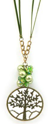 Collar verde  / Joyería / Moda femenina / Accesorios para mujer