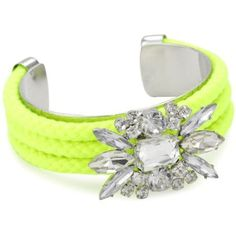 nOir Neon Yellow Cuff <3