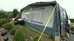Nur die harten Camper kommen auf den Wintercampingplatz in Borgdorf