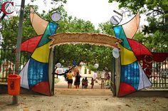 Portão Jardim de Alah - Rio de Janeiro - RJ - Brasil