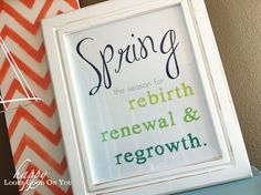 free spring printable
