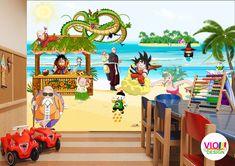 Fototapet Copii 11 Dragon Ball - VIODesign Dragon Ball, Abstract, Art, Dragons, Photo Wallpaper, Summary, Art Background, Kunst, Performing Arts
