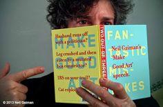 Vamos Falar Sobre... : Dica de livros: Faça Boa Arte, de Neil Gaiman.