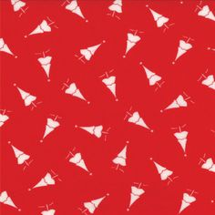 Moda Bunny Hill Winter Wonderland Quilt Fabric Christmas Trees Red White 1 2 Y for sale online Aqua Quilt, Fabric Christmas Trees, Winter Wonderland, Red And White, Bunny, Quilts, Handmade, Design, Fabrics