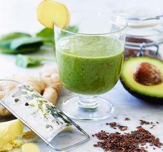 Avokado er proppfull av sunt fett, og er en perfekt ingrediens for å lage en sunn smoothie. Prøv en mettende avokadojuice med avocado, banan og sitron!
