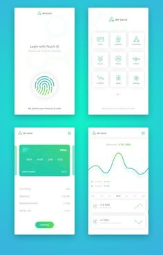 banking ux app ui design, mobile application design и app design in Ios App Design, Mobile Ui Design, Design Android, Dashboard Design, Android Ui, Flat Design, Graphisches Design, Web Mobile, Mobile App Ui