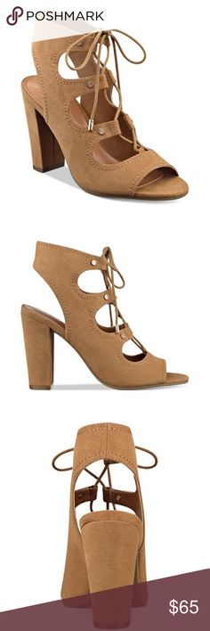 ✨Babel Lace-Up Block-Heel Sandals✨ ✨Boho-chic and dramatically stylish, indigo rd.'s. Babel gladiator sandals pair a laced, scrappy design with a block heel in must have fashion. Man made-upper, man made sole. Rounded peep-toe lace-up slingback gladiator sandals. ✨ Indigo Rd.  Shoes Sandals