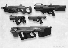 Weapon Concept Art Peter Konig