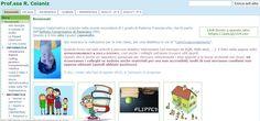 Risorse, tutorial e metodologia didattica nel sito web di Roberta Coianiz