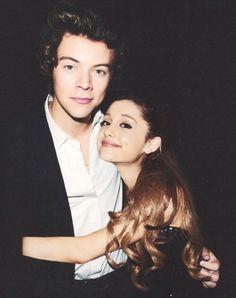 harry styles and ariana grande | Ariana Grande and Harry Styles