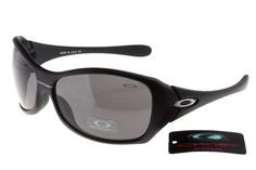 Oakley Necessity Sunglasses Black Frame Grey Lens #sunglasses