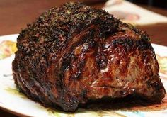Roasted Prime Rib - A nearly foolproof and easy recipe for serving up a smashing Roasted Prime Rib for your special holiday dinner.