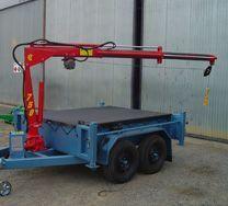 Neat tandem trailer crane setup. ATS-Series2.