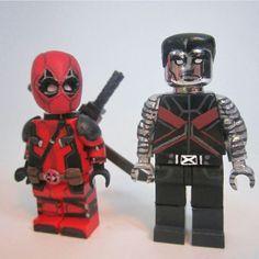 """Comon no one's getting hurt!"" #Lego #custom #colossus #deadpool #deadpoolmovie #doyouevenliftbro @deadpoolmovie @vancityreynolds by lightning_bricks"