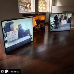 "#Repost @nunurix  ""Silencio artista descansando"" por Endika Besaguren #foroarte15 #art #contemporaryart #artfair"