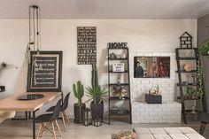Fundos da casa dos pais se transformou em lar de 60 m²