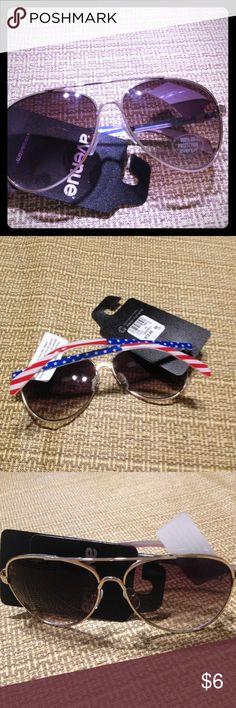 Americana sunglasses Brand new tags still on sunglasses with American flag Avenue Other