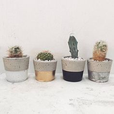 Each piece is handmade and unique! Can be used as a planter, a candle holder, or a place to hold your treasures. Due to the nature of the materials, your concrete cup will look a little different than the ones pictured. Each piece may vary slightly because, after all, it is