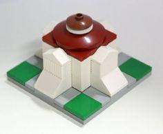 Micro Villa Rotonda: A LEGO® creation by Matija Grguric : MOCpages.com
