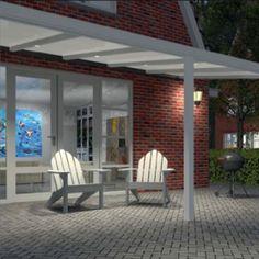 Easy Editon veranda - terrasoverkapping / aluminium veranda