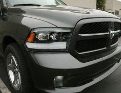 Picture 6 of 8 Dodge Ram 1500, Dodge Ram Pickup, 2018 Ram, 2018 Dodge, Projector Lens, Projector Headlights, Silverado 2500, Ram Trucks, Pickup Trucks