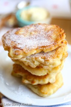 Apple Polish pancakes