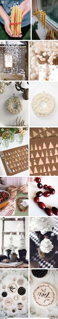Holiday crafts   //   FOXINTHEPINE.COM