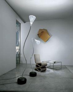 #Pipe floor lamp, #design Herzog & De Meuron