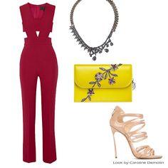 Cereja + peekaboo = arraso! Veja post completo em www.carolinedemolin.com.br. #moda #fashion #tendencias #trend #personalstylist #personalstylistbh #consultoriademoda #consultoriadeimagem #imagem #identidade #fashionblogger #looks #lookdodia #lookoftheday #estilo #style   #cushnieetochs #dior #casadei #iosselliani www.carolinedemolin.com.br