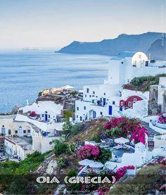 Oia (Grecia). Uno de los lugares que visita Cecilia en Bitácora de nuestra luna de miel, de Érika Gael