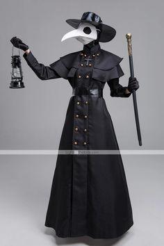 Doctor Halloween, Halloween Dress, Halloween Halloween, Steampunk Coat, Gothic Steampunk, Halloween Maskerade, Doctor Costume, Plague Doctor, Halloween Festival