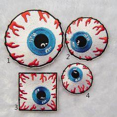 Augen Patch punk Patch aufgesetzte lustig Freak von craftapplique