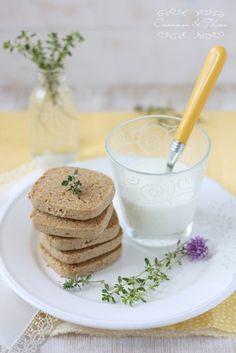 Cinnamon and Thyme: Limonini piškoti s timijanom / Lemon thyme cookies