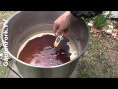 ▶ Make Maple Syrup : Boiling the Sap : GardenFork.TV - YouTube