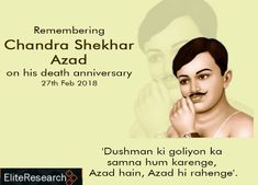 Humble tributes to the brave on his martyrdom day. Nation will never forget the ultimate sacrifice you made for her freedom. Chandra Shekhar, Festival Image, Brave, Investing, Freedom, Forget, Liberty, Political Freedom