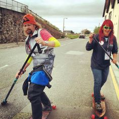 Street SUP in the #UK