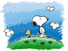 SNOOPY AND WOODSTOCK. by KisstheDream.deviantart.com