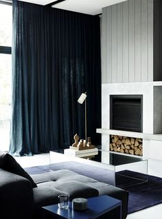 Gallery | Australian Interior Design Awards Stunning work by Fiona Lynch. www.bqdesign.com.au #curtains #interiors