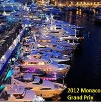 Monaco Grand Prix. Seeing these boats up close is as facinating as the race.  over.the.top.