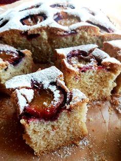 Ciasto ucierane ze śliwkami Cakes, Cake Makers, Kuchen, Cake, Pastries, Cookies, Torte, Layer Cakes, Pies