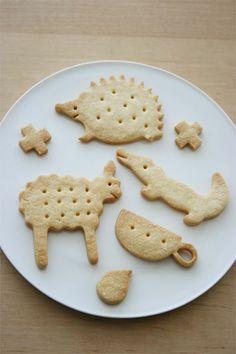 shortbread animal cookies