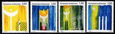 Liechtenstein Stamps - Sc.# 1595-98 - Christmas 2013 Self-Adh.