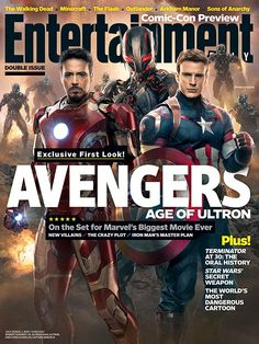 This week's cover: Meet the new boss in Marvel's 'Avengers: Age of Ultron' via: http://popwatch.ew.com/2014/07/16/this-weeks-cover-avengers-age-of-ultron/?hootPostID=bf25dbb4ee9788c4d63aa5ceb5cb4c80