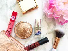 Jan 2018, Bronzer, Lip Gloss, Mascara, Nail Polish, Cosmetics, Bag, Makeup, Beauty