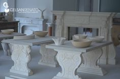Our workshop is located in Vicenza (Italy), where we carve stone by hand, reconciling the dictates of tradition with the advantages offered by technology || Il nostro laboratorio artigianale di Monteviale, in provincia di Vicenza  To find out more, visit our website