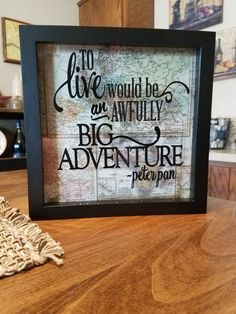 To Live Would be An Awfully Big Adventure // Adventure // Explore // Travel // Wall Art // Wall Decor // Gift // Travel Gifts // Inspiration by AshleysVinylBoutique on Etsy https://www.etsy.com/listing/486563598/to-live-would-be-an-awfully-big