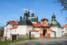 Pilgrimage church in Klokoty near Tábor, Czechia #church #czechia