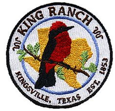 The King Ranch in Kingsville, Texas covers 825,000 acres and is the largest ranch in the USA