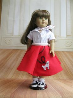 Poodle Skirt by MemesWorkshop on Etsy